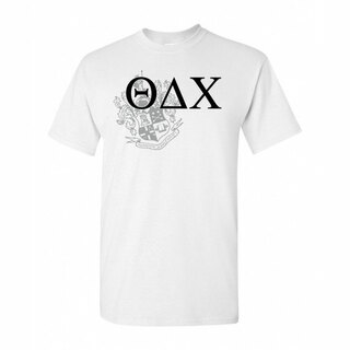 Theta Delta Chi Greek Crest - Shield T-Shirt