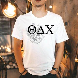Theta Delta Chi Greek Crest - Shield T-Shirt