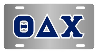 Theta Delta Chi Lettered License Cover