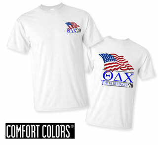 Theta Delta Chi Patriot  Limited Edition Tee - Comfort Colors