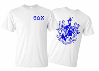 Theta Delta Chi World Famous Crest - Shield Tee