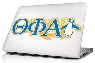 Theta Phi Alpha 10 x 8 Laptop Skin/Wall Decal