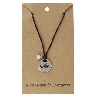 Theta Phi Alpha Alloy Necklace