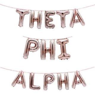 Theta Phi Alpha Banner Balloon Set