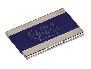 Theta Phi Alpha Business Card Holder