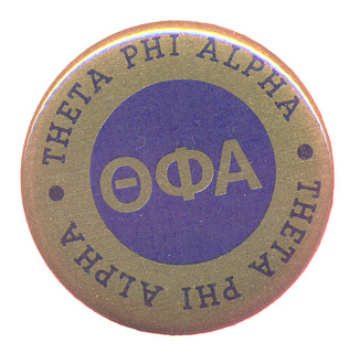 Theta Phi Alpha Button Circle