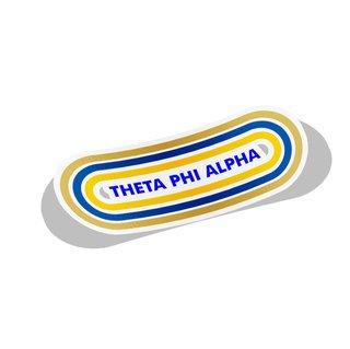 Theta Phi Alpha Capsule Decal Sticker