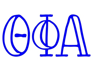 Theta Phi Alpha Carson Greek Sticker