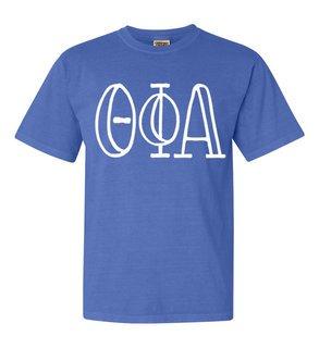 Theta Phi Alpha Comfort Colors Heavyweight Design T-Shirt