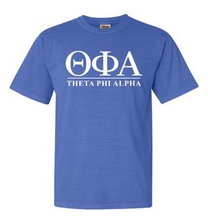 Theta Phi Alpha Comfort Colors Heavyweight T-Shirt