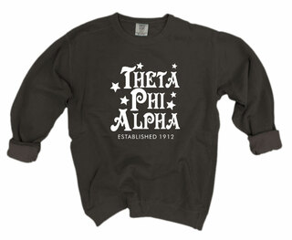Theta Phi Alpha Comfort Colors Old School Custom Crew