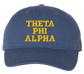 Theta Phi Alpha Comfort Colors Pigment Dyed Baseball Cap