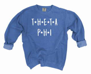 Theta Phi Alpha Comfort Colors Starry Night Crew