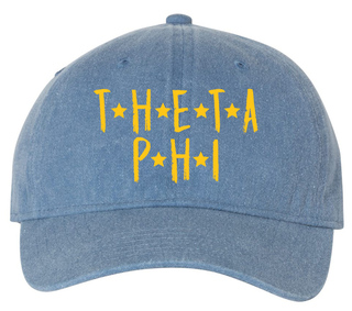 Theta Phi Alpha Comfort Colors Starry Night Pigment Dyed Baseball Cap