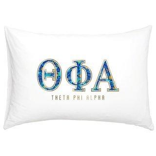 Theta Phi Alpha Cotton Knit Pillowcase