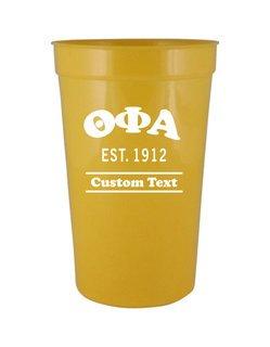 Theta Phi Alpha Custom Greek Cooper Stadium Cup