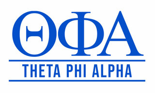 Theta Phi Alpha Custom Sticker - Personalized