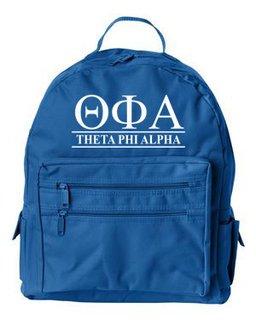 Theta Phi Alpha Custom Text Backpack