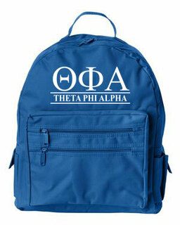 Theta Phi Alpha Custom Text Backpack