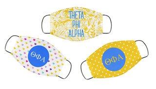 Theta Phi Alpha Face Mask Trio Set