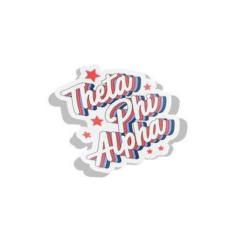 Theta Phi Alpha Flashback Decal Sticker
