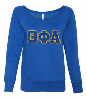Theta Phi Alpha Fleece Wideneck Sweatshirt