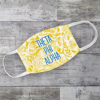 Theta Phi Alpha Floral Face Mask