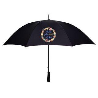 Theta Phi Alpha Floral Umbrella