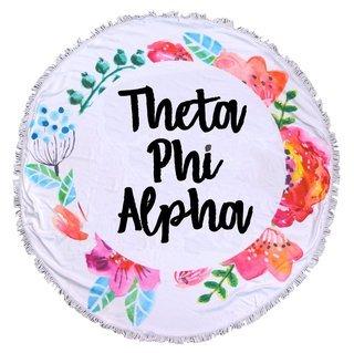Theta Phi Alpha Fringe Towel Blanket
