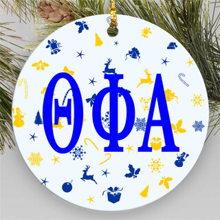 Theta Phi Alpha Holiday Cheer Ornaments