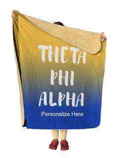 Theta Phi Alpha Gradient Sherpa Lap Blanket