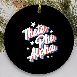 Theta Phi Alpha Holiday Flashback Ornaments