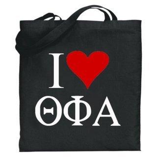 Theta Phi Alpha I Love Tote Bags