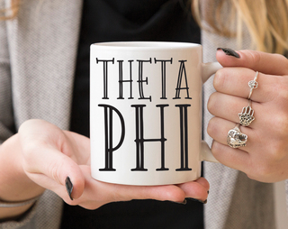Theta Phi Alpha Inline Coffee Mug