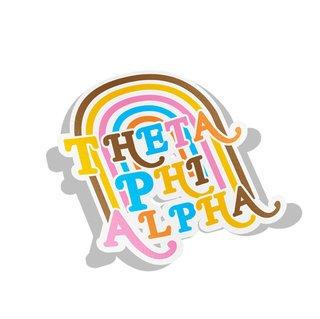 Theta Phi Alpha Joy Decal Sticker