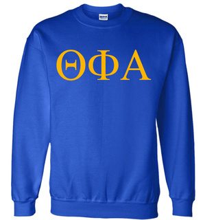 Theta Phi Alpha Lettered World Famous $19.95 Greek Crewneck