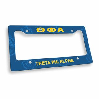 Theta Phi Alpha Custom License Plate Frame