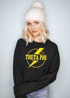 Theta Phi Alpha Lightning Crewneck Sweatshirt