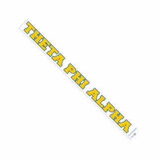 Theta Phi Alpha Long Window Decals Stickers