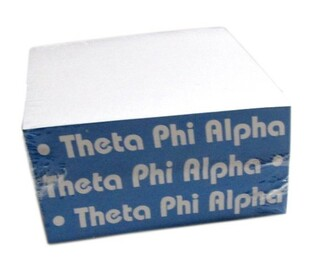 Theta Phi Alpha Memo Paper Cube