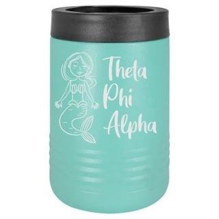 Theta Phi Alpha Mermaid Stainless Steel Beverage Holder
