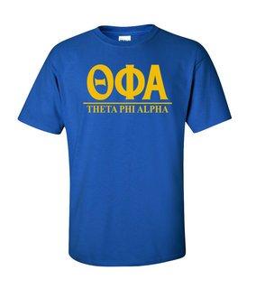 Theta Phi Alpha Message T-Shirts