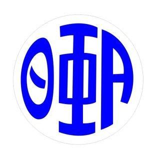 Theta Phi Alpha Monogram Decal