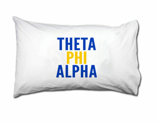 Theta Phi Alpha Name Stack Pillow Cover