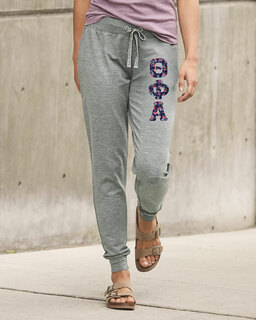 Theta Phi Alpha Be All Stretch Terry Sorority Pants