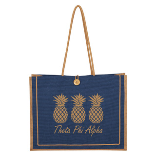 Theta Phi Alpha Paradise Jute Bag