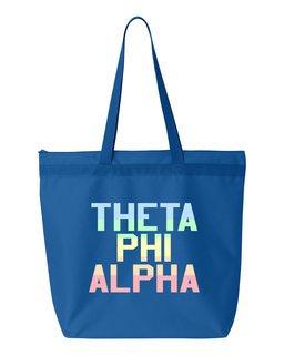 Theta Phi Alpha Pastel Tote Bag