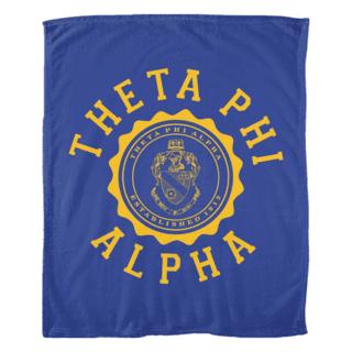 Theta Phi Alpha Seal Fleece Blanket