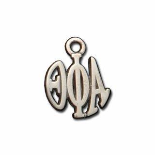 Theta Phi Alpha Silver Circle Charm