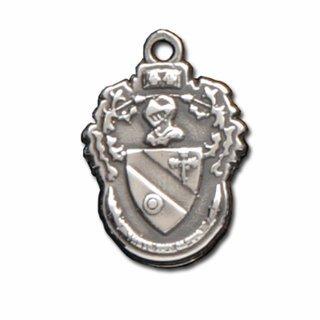 Theta Phi Alpha Silver Crest - Shield Charm